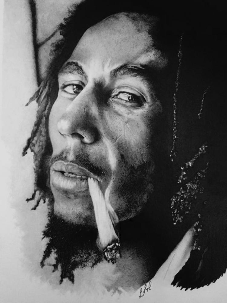 Bob Marley par Finefinishportraits